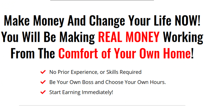 Make Money And Change Your Life NOW!